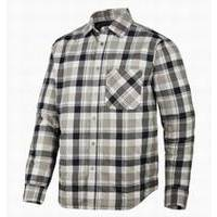Snickers Padded Flannel Checked LS Shirt RuffWork