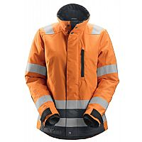 Snickers Isolerend Damesjack High Visibility AllroundWork