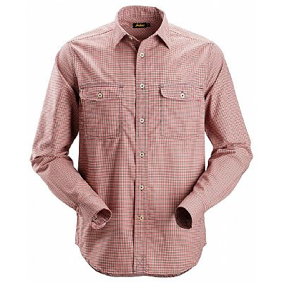 Snickers Checkered Comfort Shirt with Long Sleeves (SNI8507)